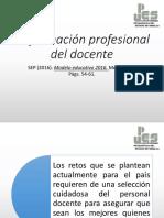 La Formacion Profesional. Modelo Educativo 2016