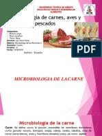 Microbiologia en Carnes ,Aves y Pescado