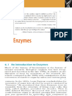 Chapter 6 - The Behavior of Proteins ENZYMES-2018