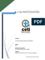 2da Investigacion Calidad