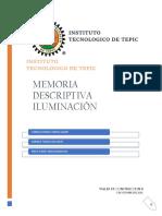 MEMORIA DESCRIPTIVA ILUMINACION.docx