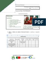 Ficha Tema de Vida 14 - Efemérides receitas