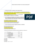 Process and Job Order Theories