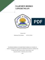 264_manajemen Risiko Lingkungan (Uts)