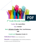 diversity lesson plan- all kinds of families 9-29-17  1
