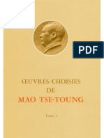Œuvres choisies de Mao-Tsé-Toung (tome 1)