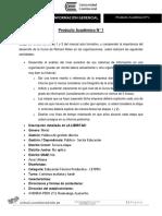 Producto Académico N 1 (Entregable)