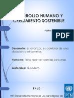 Desarrollo Humano y Crecimiento Sostenible