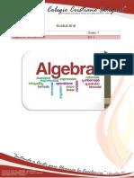 Silabus Math Grado 7 2018