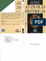 Guy Bordé e Hervé Martin - AS ESCOLAS HISTÓRICAS (LIVRO COMPLETO).pdf