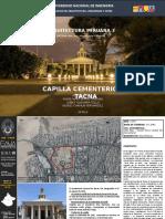 Capilla Del Cementerio General de Tacna