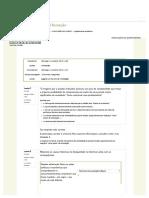 Questionário Avaliativo Modelo 3 - Nota 9