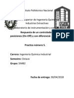 Practica 5. on-Off