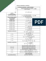 Formulas Basicas Ingenieria Economica