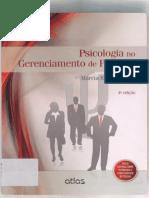 Livro - Psicologia No Gerenciamento de Pessoas - Motivação Humana - Capítulo 6