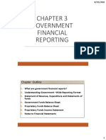 BA322 GA Notes Ch 3 - Government Financial Reports