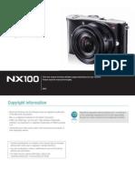 Samsung Camera NX100 User Manual