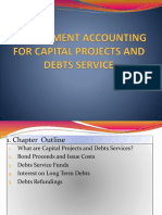 BA322 GA Notes Ch 6 - Accountng for Capital Projects and Debts Service