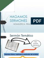 HAGAMOS SERMONES