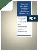 fisíca, proyecto integrador