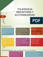 CAP. 15 Tolerancia y Autoinmunidad