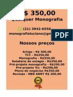 SO R$ 350,00 PARA  Monografia e Tcc  WHATSAPP (21) 3942-6556- monografiatcc174@gmail.com(100) -compressed