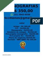 POR  R$ 350,00 PARA  Monografia e Tcc  WHATSAPP (21) 3942-6556- monografiatcc174@gmail.com(67) -compressed