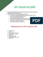 Protab Colon in Loop