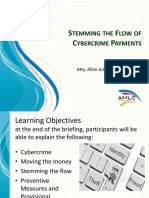 Stemming the Flow of Cybercrime Payments