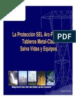 3.1-Protección Contra Arco Eléctrico a La Velocidad de La Luz
