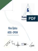 8.-Fibra Óptica _(OPGW Y ADSS_)