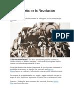 Breve Reseña de La Revolución Mexicana
