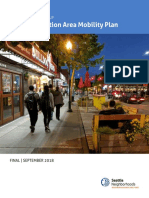 U District Station Area Mobility Plan - Final