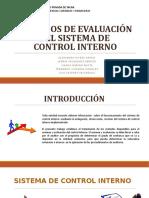 Metodos de Evaluacion Del Sistema de Control Interno
