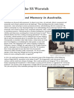 The Loss of the SS Waratah Draft Willhodson