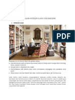 Desain Interior Perbedaan Klasik Dan Modern
