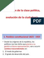 paralisis constitucional