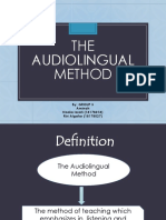 TEFL The Audiolingual Method.pptx