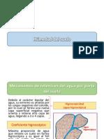 humedad del suelo y su clasificacion