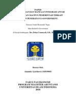 Paper Integrasi E-gover Antar Kementrian
