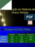 04 - Sistemas Verbais