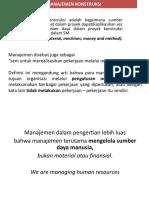 Bentuk-bentuk Kontrak Konstruksi Ringkas