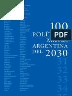 100 Politicas para la Argentina del 2030.pdf