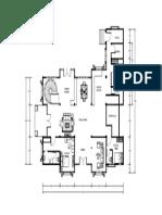Denah Rumah Lantai 1