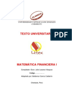 Matemática Financiera I