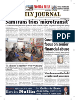 San Mateo Daily Journal 10-15-18 Edition