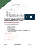 Guidelines for Short-Mini Case Studies