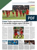 La Provincia Di Cremona 15-10-2018 - Serie B