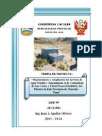 Ejemplo - Perfil de Proyecto Agua Pot