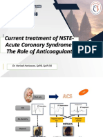 Current Treatment of NSTE-Acute Coronary Syndrome the Role of Anticoagulant